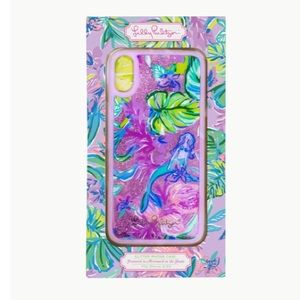 Lilly Pulitzer Mermaid in the Shade iPhone X/XS